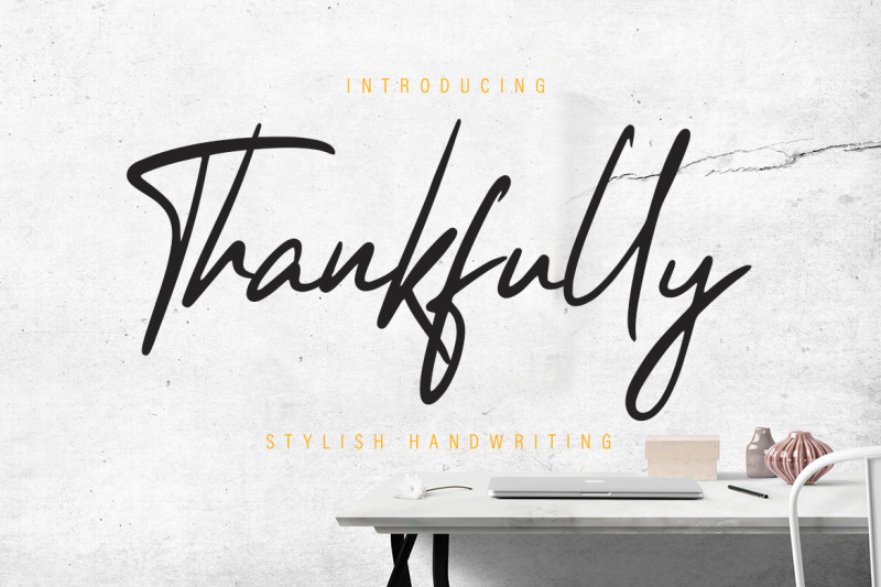 thankfully-stylish-script