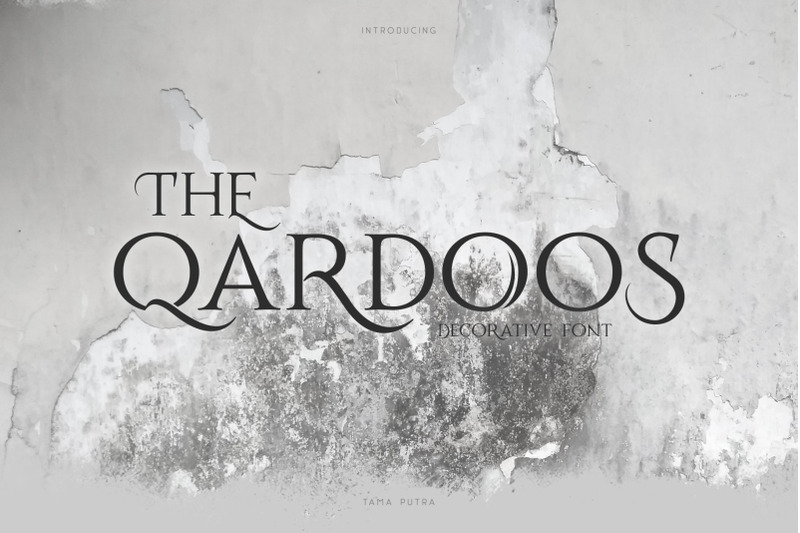 qardoos-decorative-serif-typeface