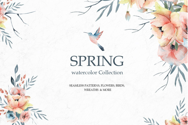 spring-watercolor-collection