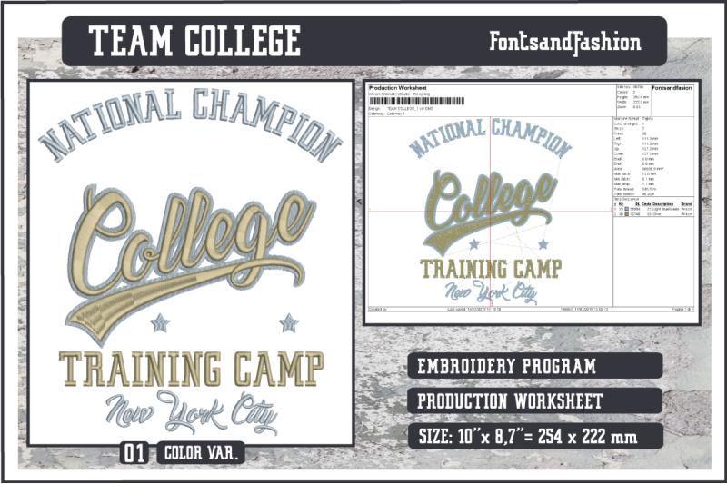 team-college