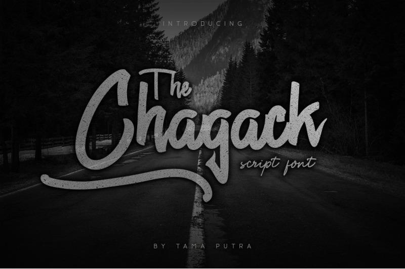 chagack-script-font-duo