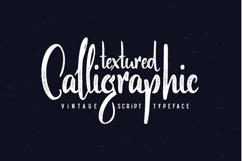 scratches-calligraphic-font