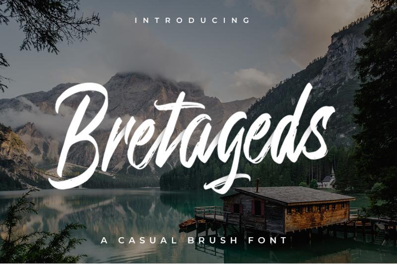 bretageds-brush-font