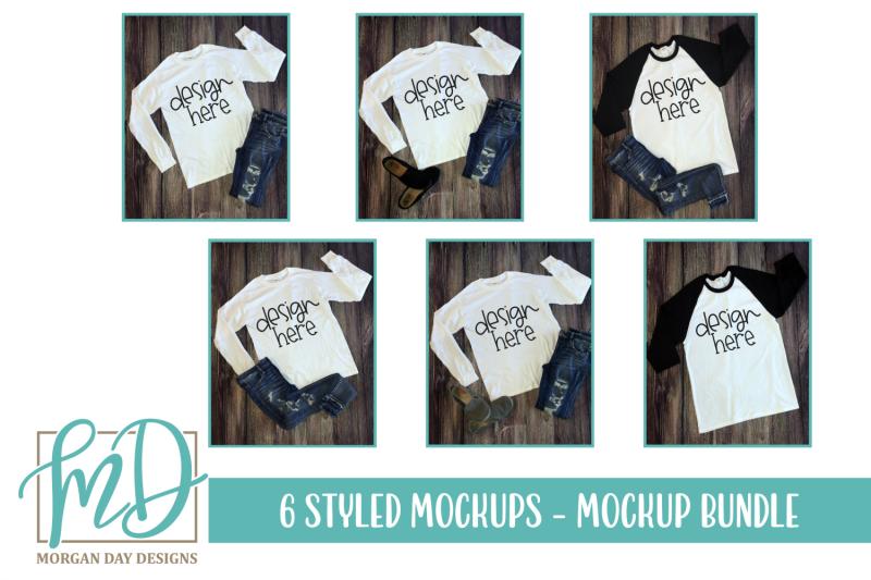 Free Bella Canvas 3001 T Shirt Mockup Flat Lay Bundle Vol. 25 (PSD Mockups)