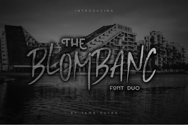 blombanc-display-amp-handwritten-font