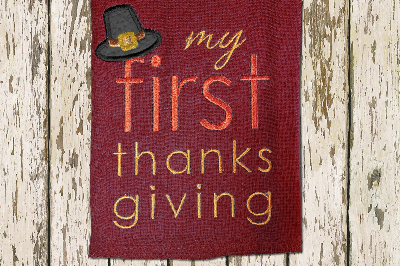 my-first-thanksgiving-with-pilgrim-hat-applique-embroidery