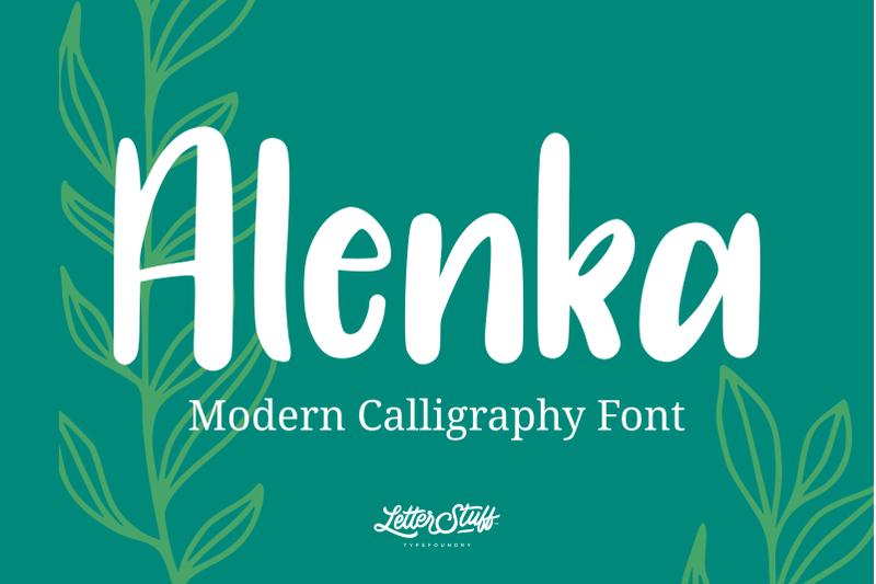 alenka-handlettering-font
