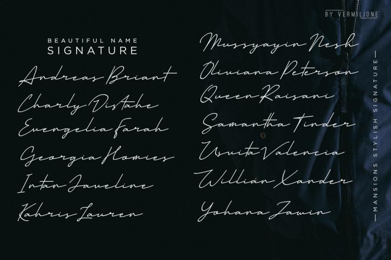 mansion-stylish-signature