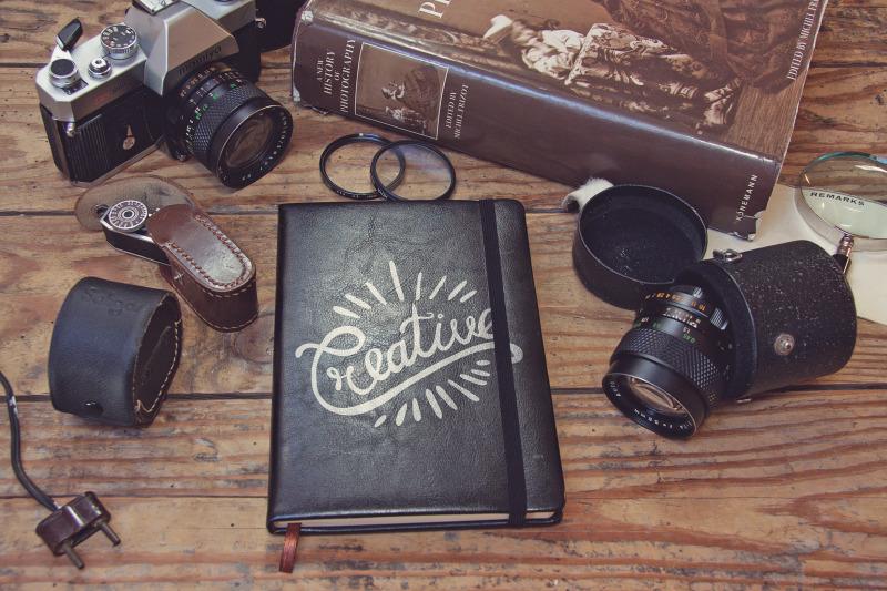 Free Pocket Notebook Cover (PSD Mockups)