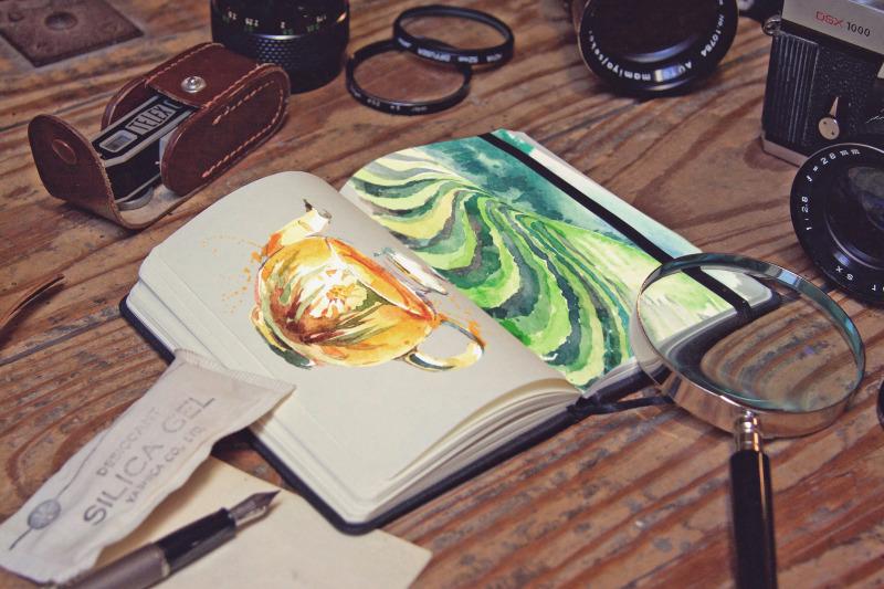 Free Pocket Notebook Writing Zoom (PSD Mockups)