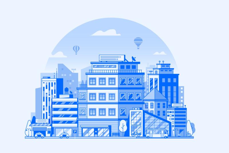 modern-city-metropolis-illustrations