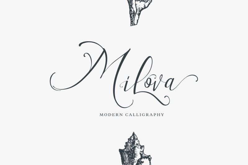 milova-modern-calligraphy-font
