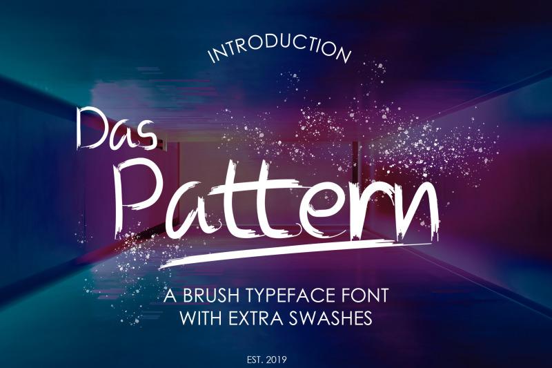 das-pattern-font