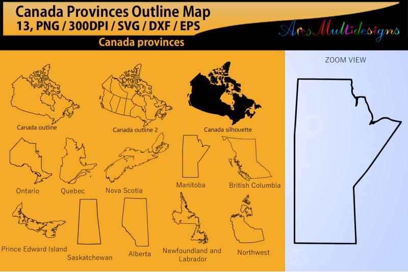 canadian-provinces-outline-svg-eps-png-dxf-canada-provinces