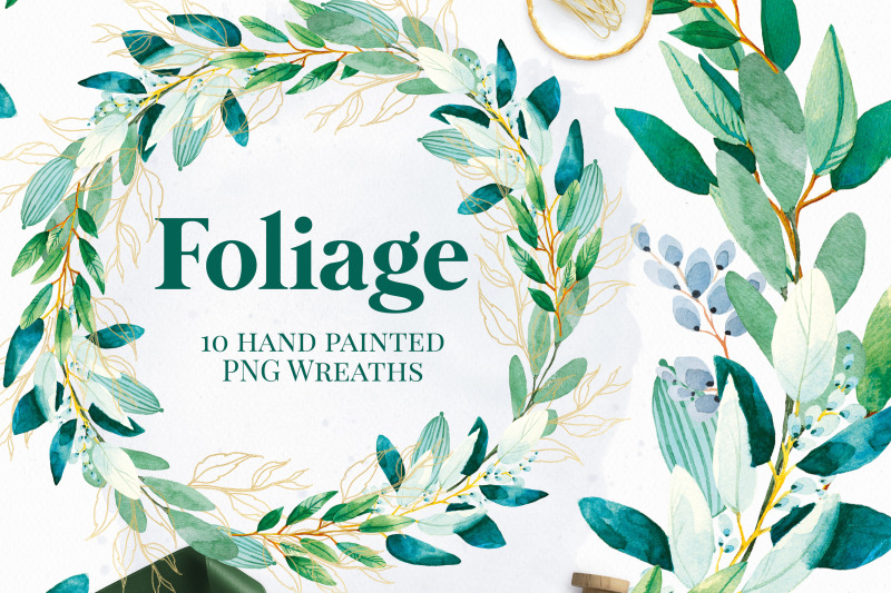 foliage-wreaths-green-and-gold-invitation-graphics-nbsp