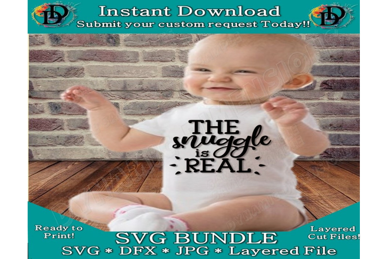 baby-svg-the-snuggle-is-real-baby-onesie-design-infant