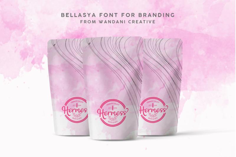 bellisia-romantic-font