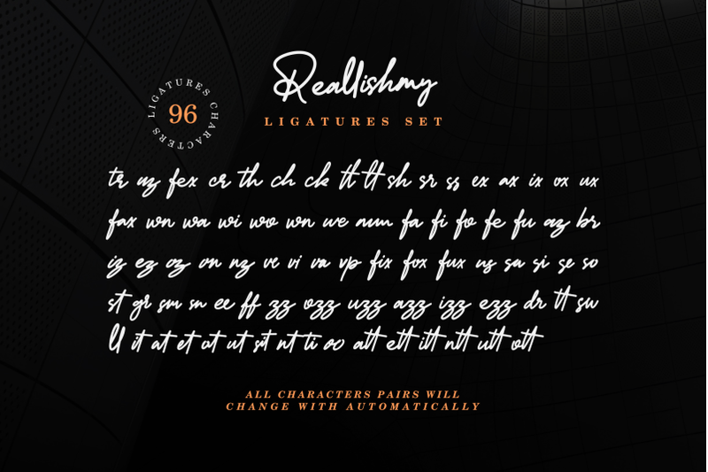reallishmy-signature-font