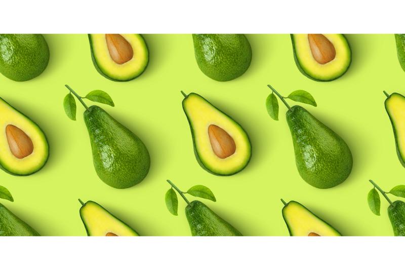 avocado-seamless-pattern