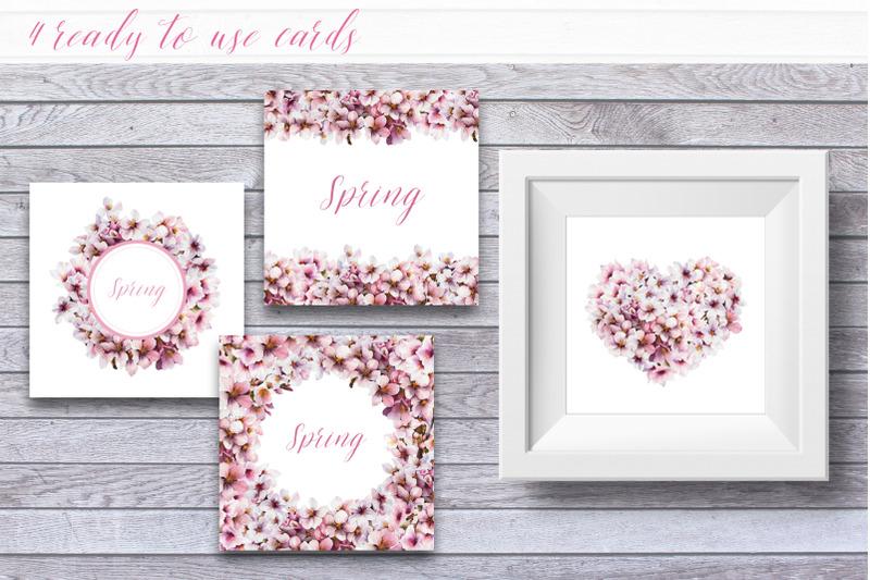 spring-blossom-set