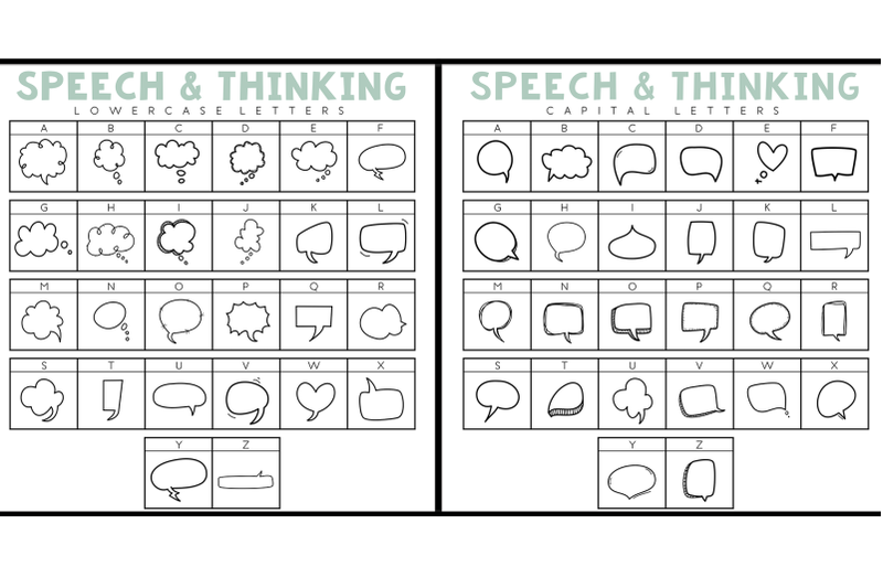 say-what-speech-amp-thought-bubbles-doodle-font