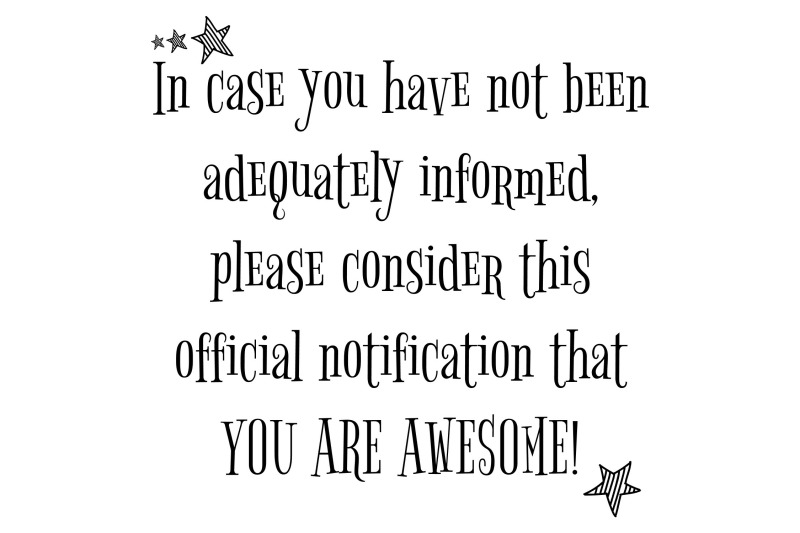 you-are-awesome-svg-eps-png