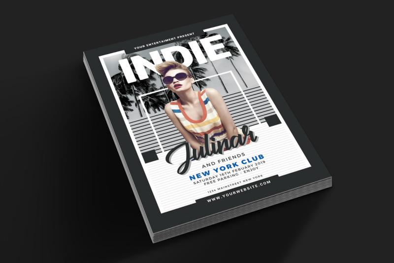 indie-music-flyer