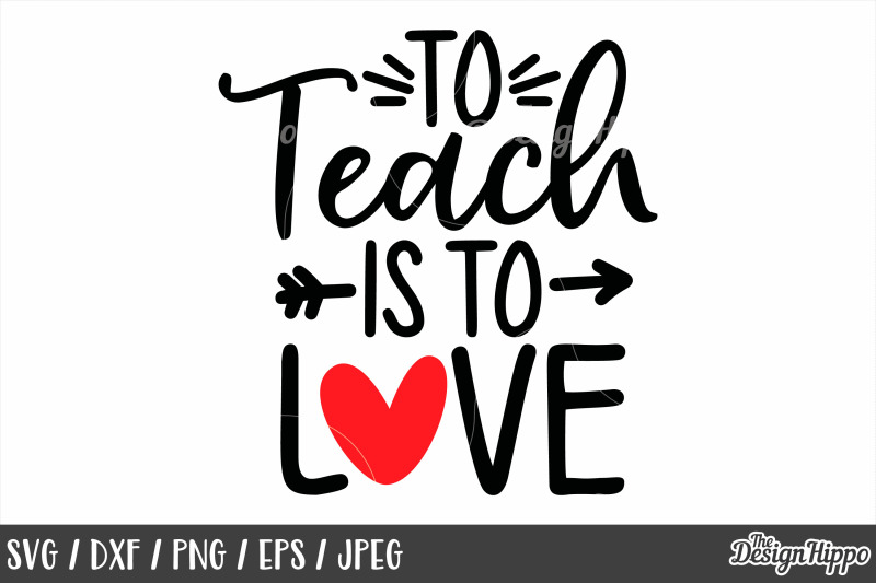 Teacher Valentine 10 Designs Bundle Svg Png Dxf Cut Files By The