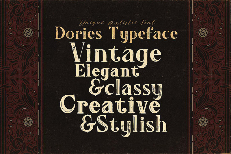 dories-display-font