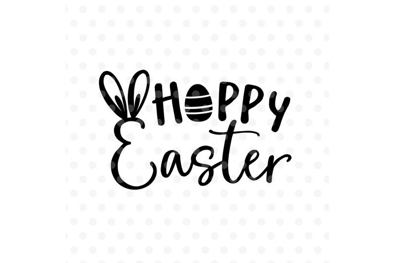 Hoppy Easter Svg Eps Png Dxf By Tabita S Shop Thehungryjpeg Com