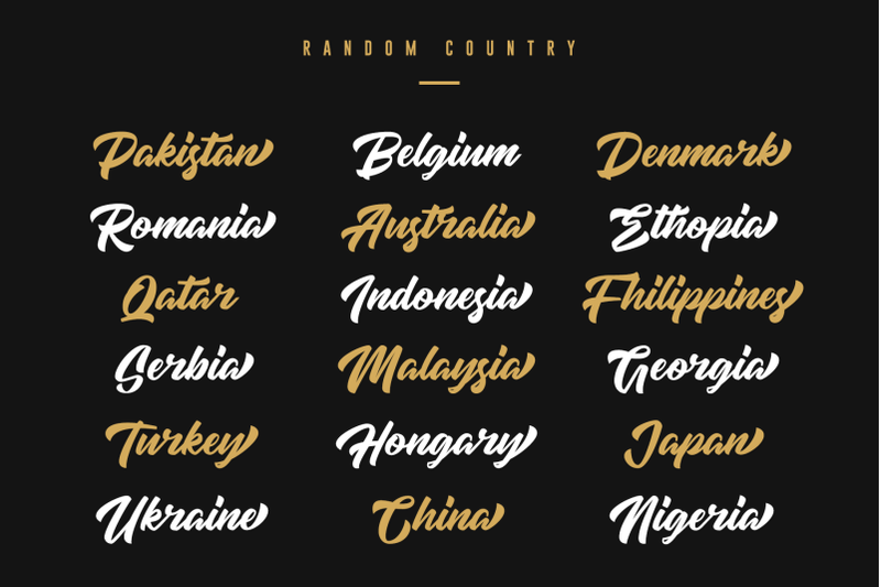 high-amelliya-typeface
