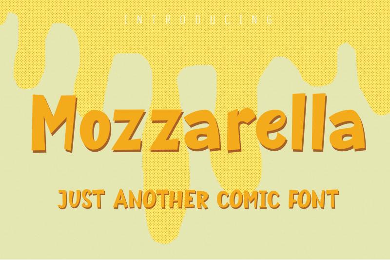 mozzarella-comic-font
