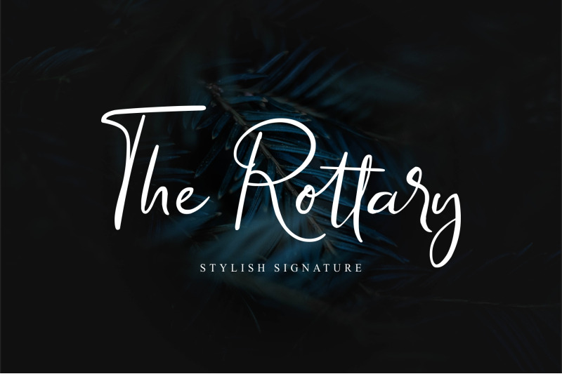 the-rottary-modern-script
