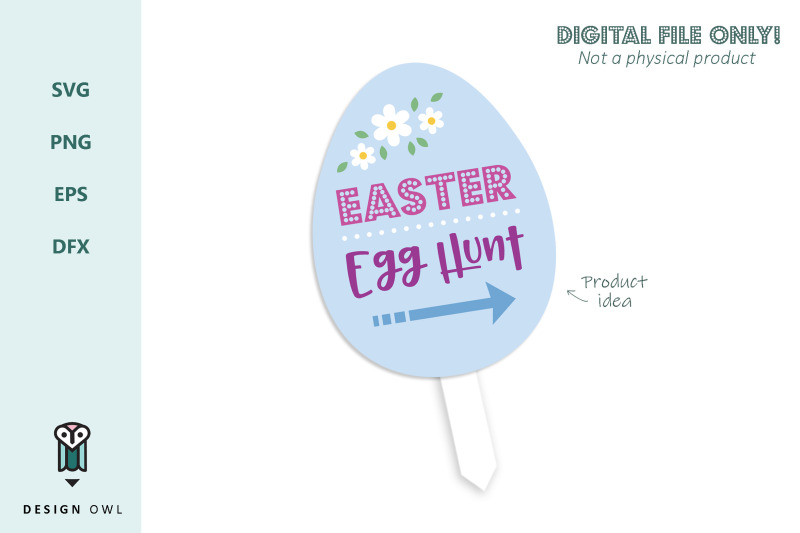 easter-egg-hunt-sign-svg-file