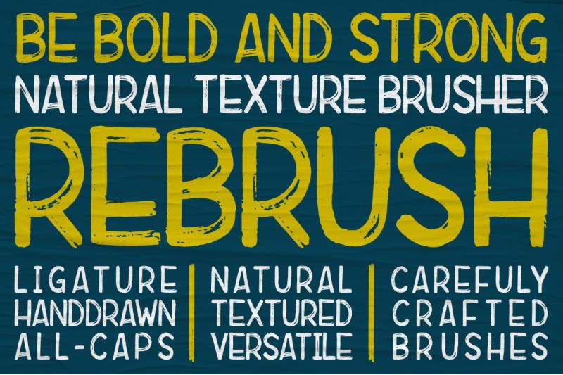 rebrush-typeface