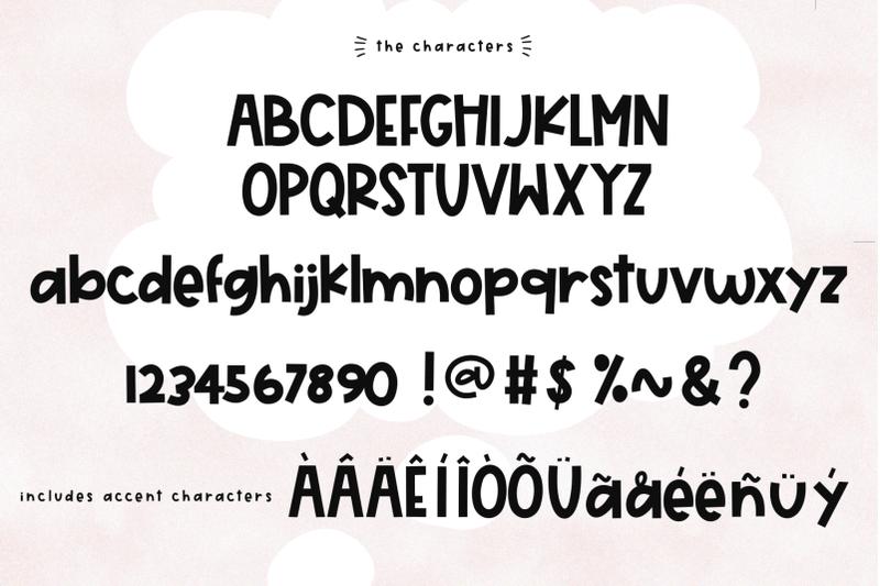Day Dreamer A Cute Quirky Handwritten Font By Ka Designs