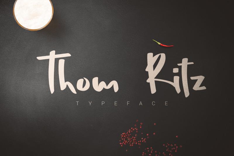 thom-ritz-typeface