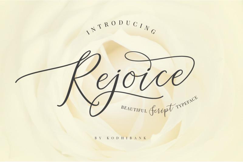 rejoice-typeface