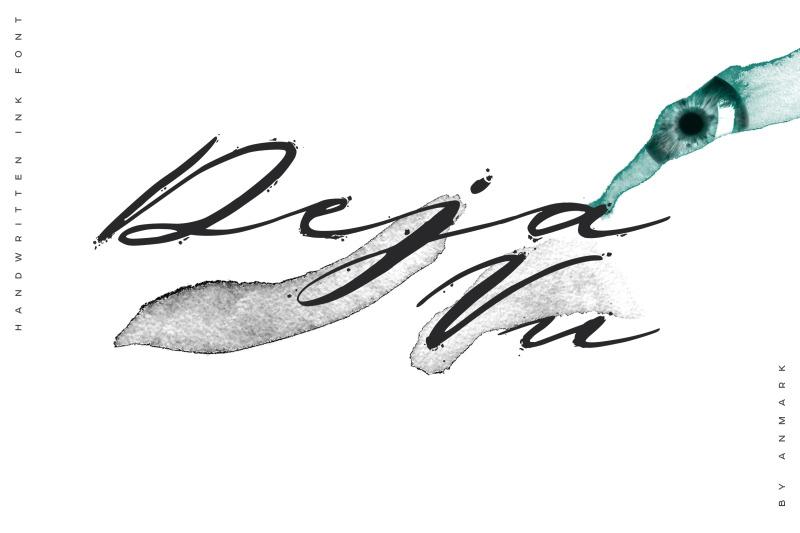 deja-vu-handwritten-ink-font