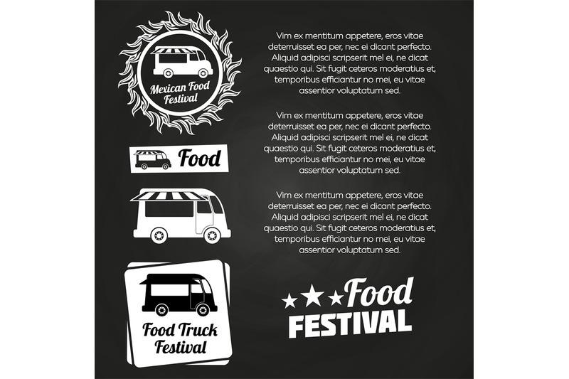 chalkboard-food-festival-poster-design