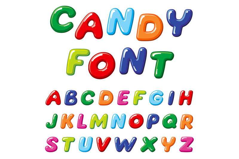 cartoon-candy-kids-vector-font-rainbow-funny-alphabet