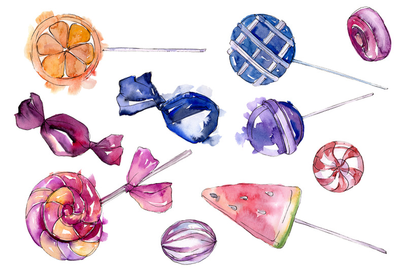 dessert-sweets-watercolor-png