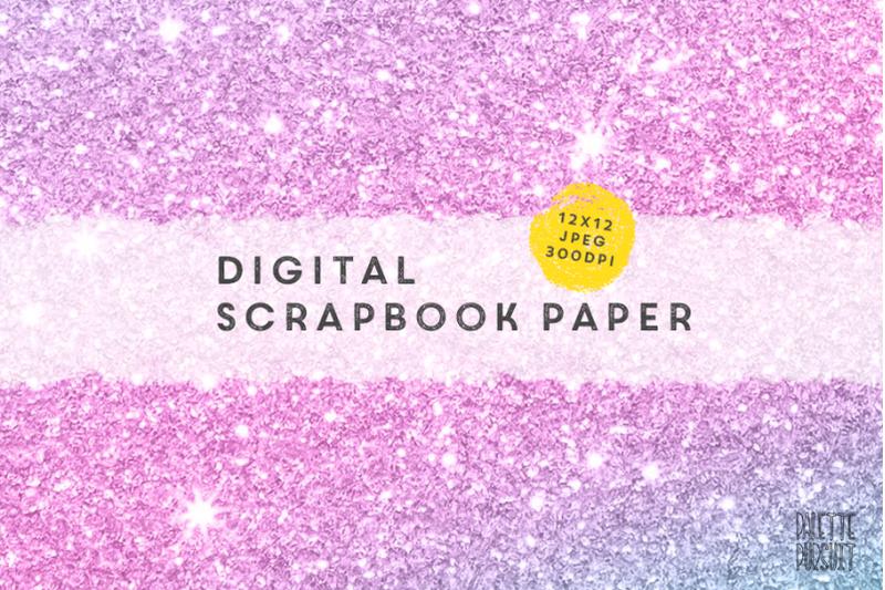 mermaid-or-unicorn-color-glitter-textures-digital-paper