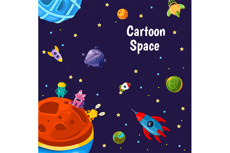 vector-with-cartoon-space-planets-and-ships