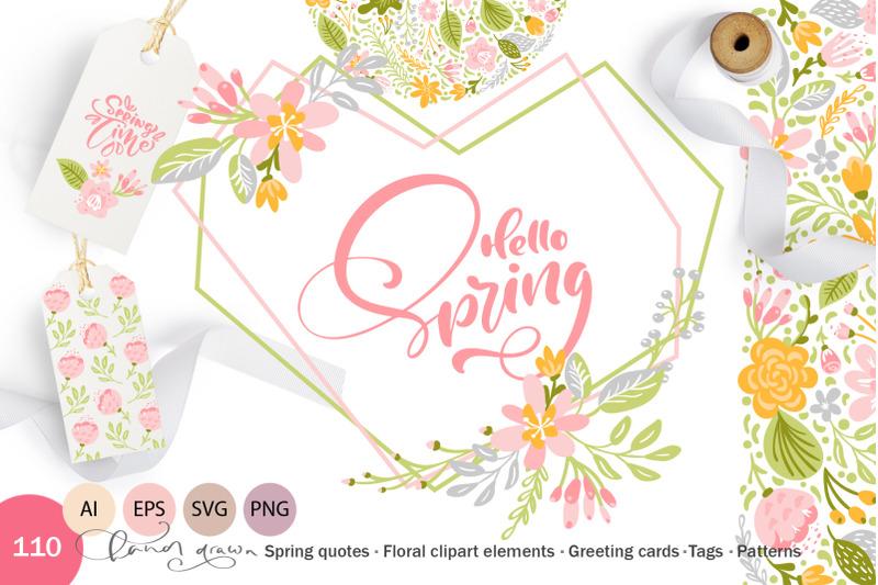 fresh-feeling-spring-vector-kit-svg