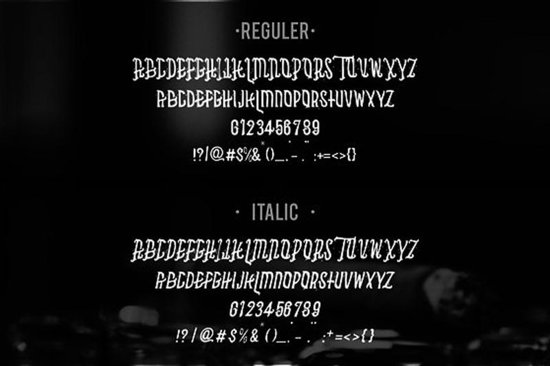 asbak-typeface
