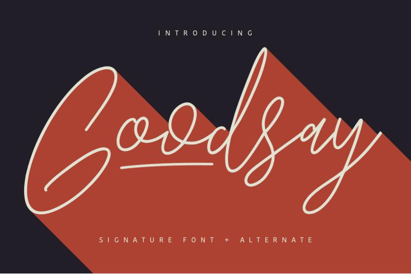 goodsay-signature