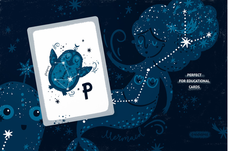 space-world-animal-alphabet