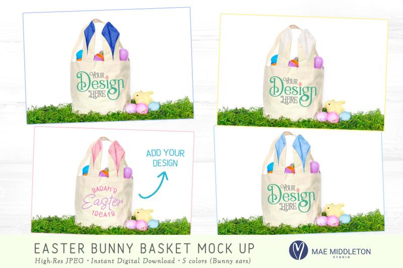 easter-basket-with-bunny-ears-mock-up