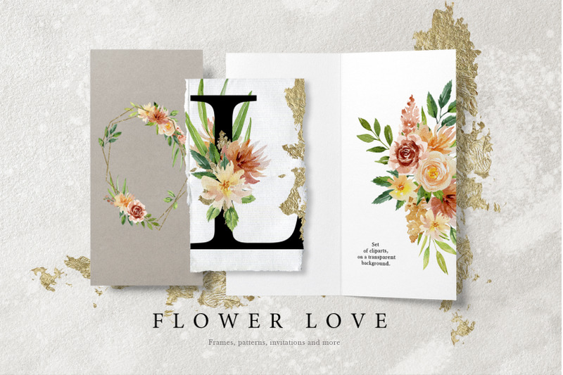 flower-love-watercolor-graphic-set
